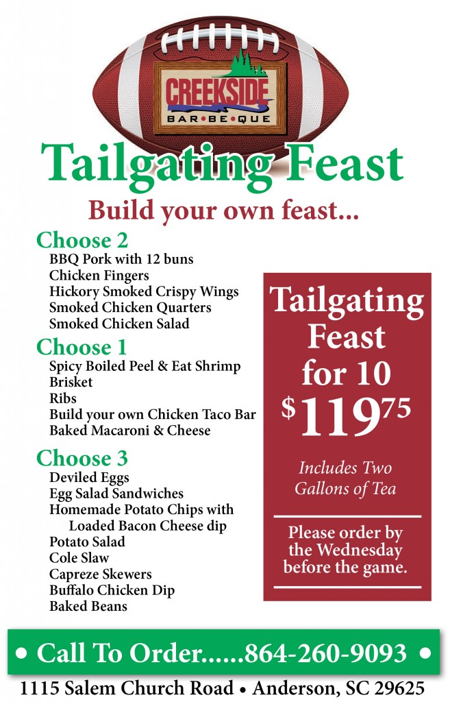 Click to check out our tailgate specials!!!!